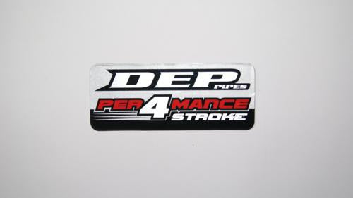 DEP 4 Stroke Replacement Decal