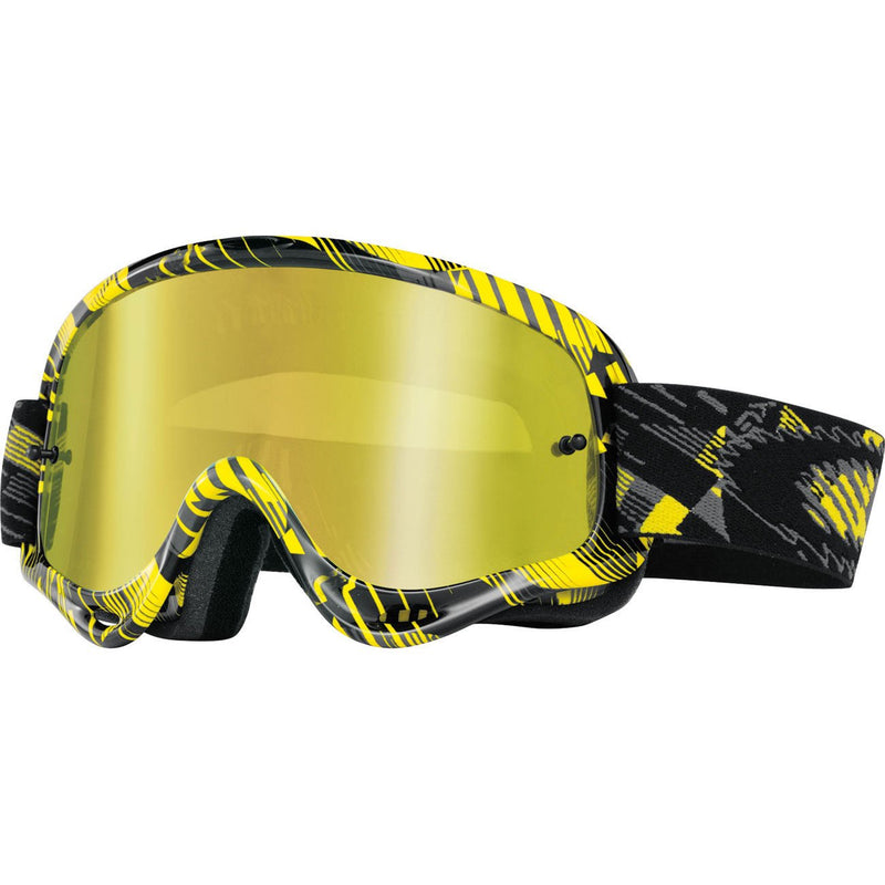 Oakley XS O Frame (Iridium Mirrored Lens) Youth - Digi Yellow