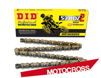 Drivetrain Chain Links DiD 520- - Gold 120 Link