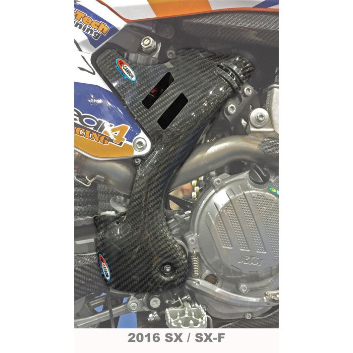 Chassis Protection Fork Guard Carbon Pro-Carbon Upper KTM SX 125- 2011-2015