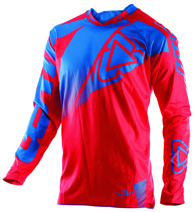 Kit Jersey Leatt GPX 4-5 Lite - 2017- Red Blue