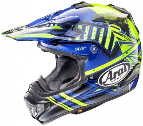 Arai MX-V MX Motocross Helmet - Star Yellow