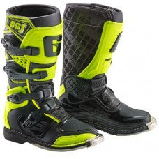 Gaerne SG-J Kids MX Boot Black Yellow Flou