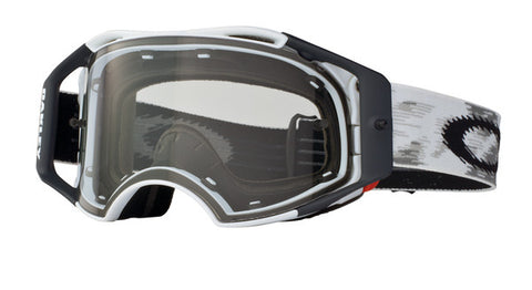 Oakley Airbrake - Matte White Speed (Clear Lens)