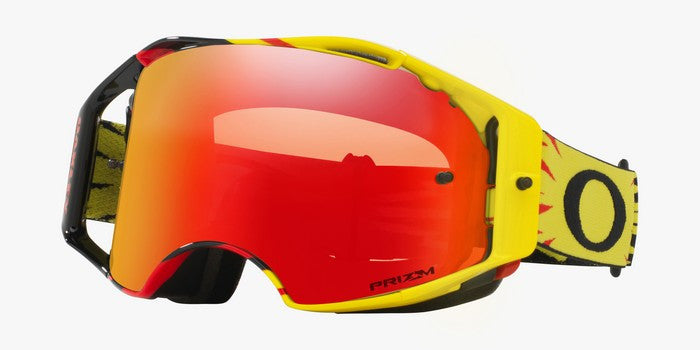 Kit Goggle Lens Oakley Airbrake - 2018- Prizm Torch Iridium Lens High Voltage Red Yellow