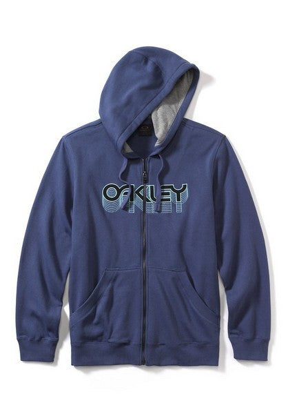 Oakley Factory Pilot Zip Fleece - Indigo