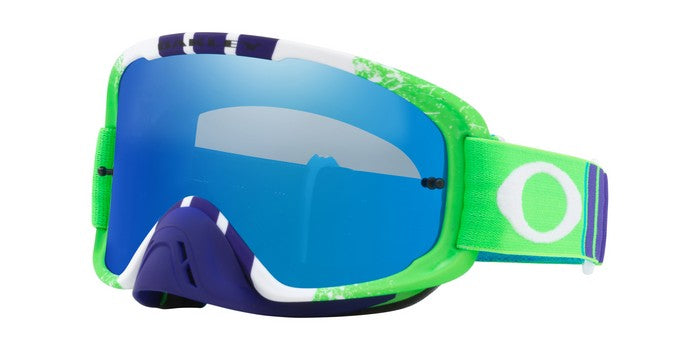 Kit Goggle Lens Oakley OFrame Pinned 2-0 - 2018- iridium Clear Lens Green Race Blue Black Ice