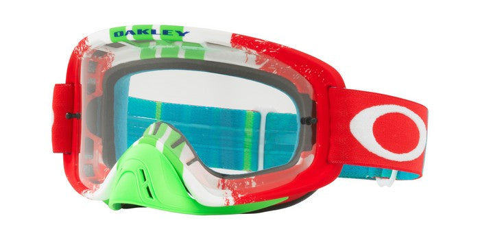 Kit Goggle Lens Oakley OFrame Pinned 2-0 - 2018- Clear Lens Red Race Green