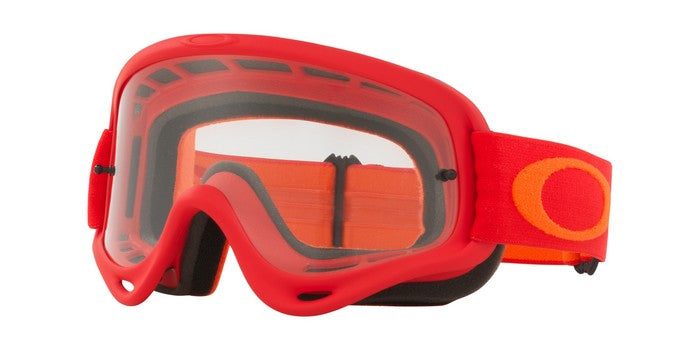 2018 Oakley O Frame Flo Red Orange Clear Lens