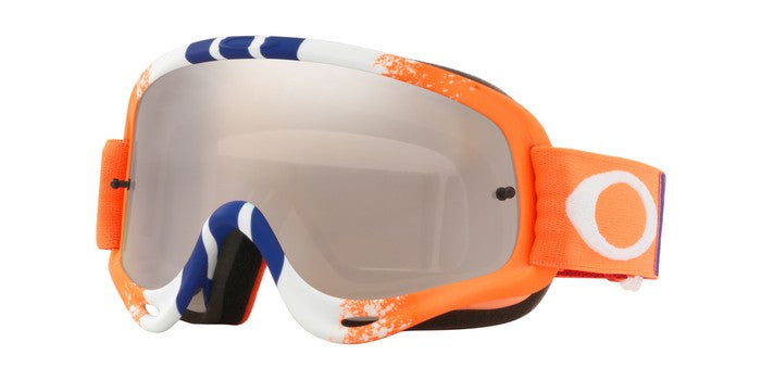 2018 Oakley O Frame Pinned Race Orange Blue Black Iridium & Clear Lens