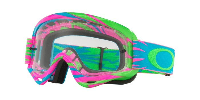 2018 Oakley XS O Frame High Voltage Pink Blue Clear Lens