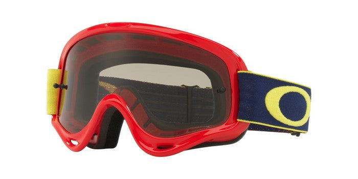Kit Goggle Oakley OFrame XS Kickstart - 2018- Dark Grey Lens Red Yellow