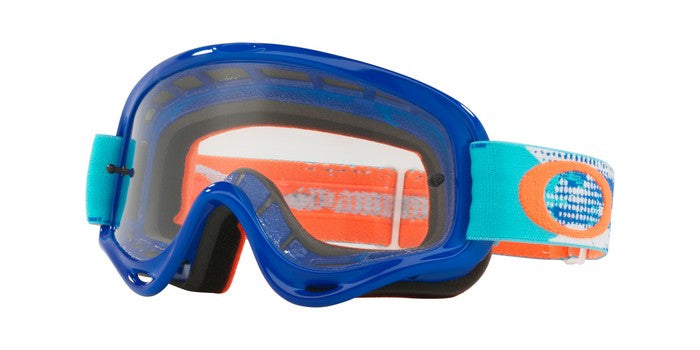 2018 Oakley XS O Frame Treadburn Orange Blue Clear Lens