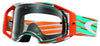 Oakley Airbrake - Nemesis Orange/Blue (Clear Lens)
