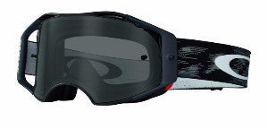 Oakley Airbrake Black Speed - (Dark Grey Lens)