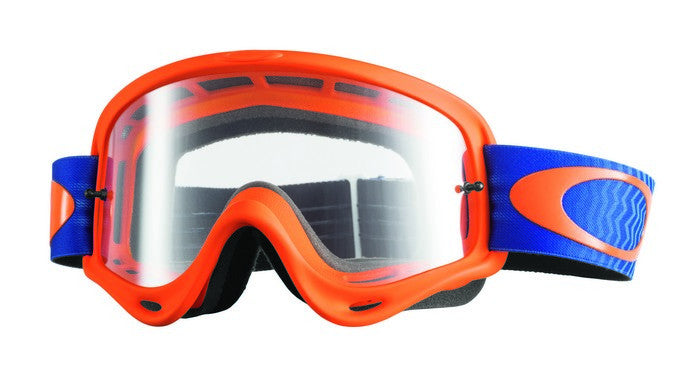 Oakley O Frame Shockwave Orange/Blue - (Clear Lens)
