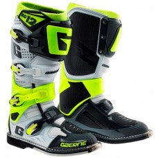 Gaerne SG12 MX Boot White/Grey/Yellow