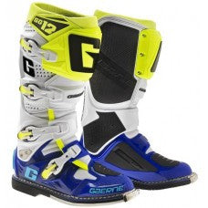 Gaerne SG12 MX Boot Blue White Yellow