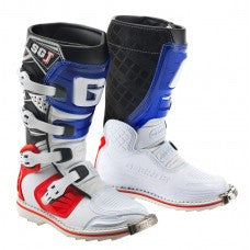 Gaerne SG-J Kids MX Boot White Blue Red