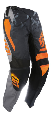 Shot Devo Squad Pant Grey Neon Orange