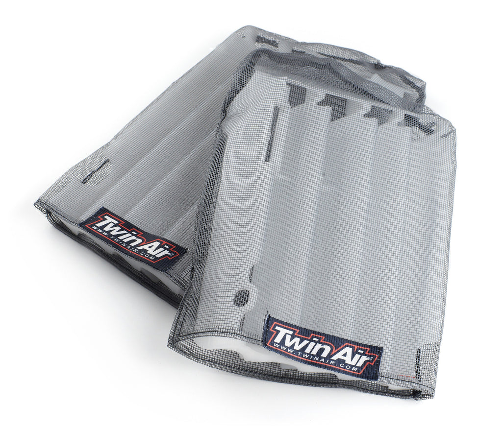 Chassis Plastics Radiator Sleeves Twin-Air Kawasaki KXF 450- 2012-2015 Grey