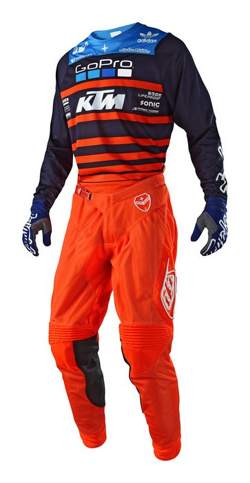 2018 Troy Lee Designs GP Air Youth Pant Mono Orange