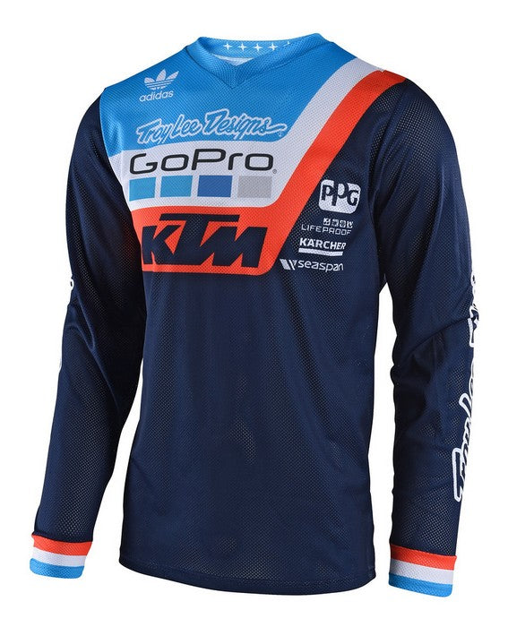 2018 Troy Lee Designs GP Air Jersey Prisma Team Navy