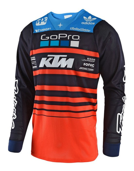 2018 Troy Lee Designs GP Air Youth Jersey Team Navy Orange