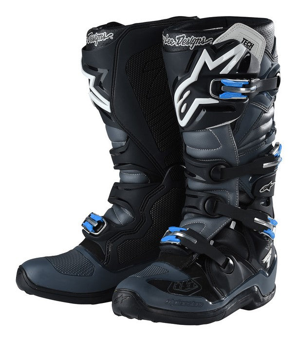 Kit Boot Alpinestars Tech 7TROY LEE DESIGNS- - Grey Black UK 13