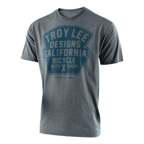 2018 Troy Lee Designs Granger T Shirt Solid Graphite Heather