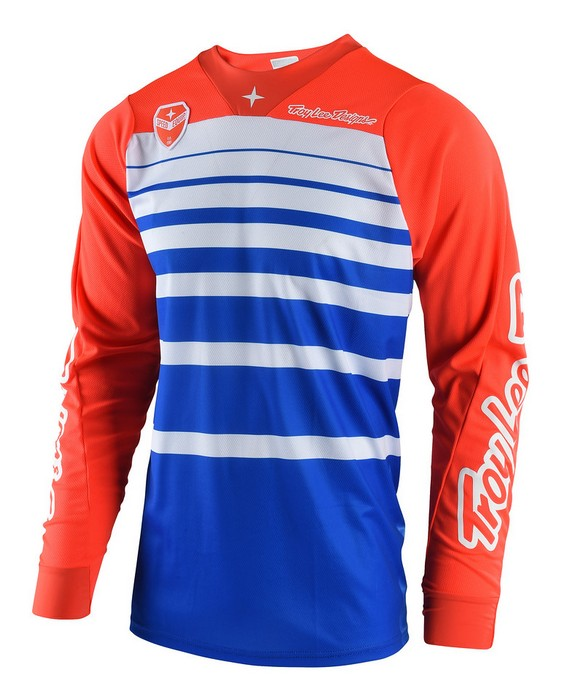 2018 Troy Lee Designs SE Jersey Streamline Blue/Orange