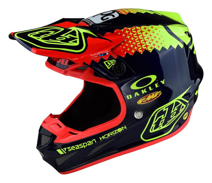 Kit Helmet Troy Lee Designs (TLD) SE4 Team Composite - 2017- Navy XS-Small - S Small