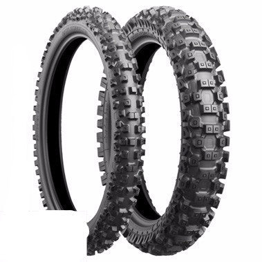 SHOW PRICE Bridgestone MX Tyre Sets - Battle Cross X30 Medium Terrain Tyres