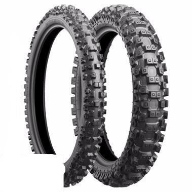 Tyres Hard Terrain Front & Rear Bridgestone Battlecross X40 Show Price Special Offer - - 19in 100-90