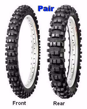 Dunlop D952 Soft/Inter Tyres Front/Rear Set