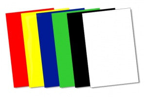 Coloured Square Backgrounds Thin