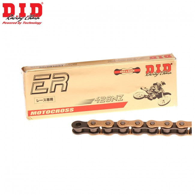 DID 428NZ Gold Motocross Chain - 134 Links - 80cc/105cc