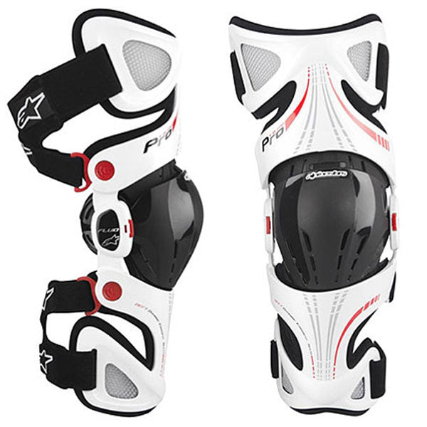 Kit Protection Knee Brace Alpinestars Fluid KneeBrace - 2014- S - Small L - Large