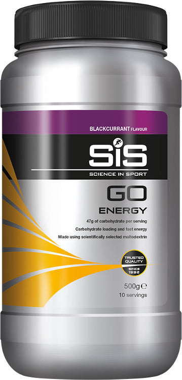 Training & Supplements Hydration Drink Energy SiS Go-Energy Powder Tub - - Orange 500g