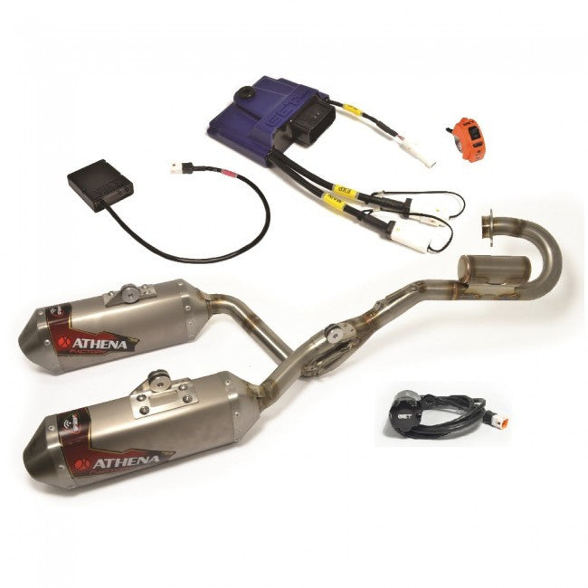 GET RX1 Stage 1 Husqvarna FC350 2016 (Athena Exhaust System, Rx1 Evo, Map Switch Included)
