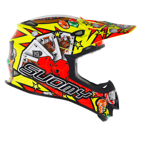 Suomy Mr Jump Jackpot Motocross Helmet - Yellow
