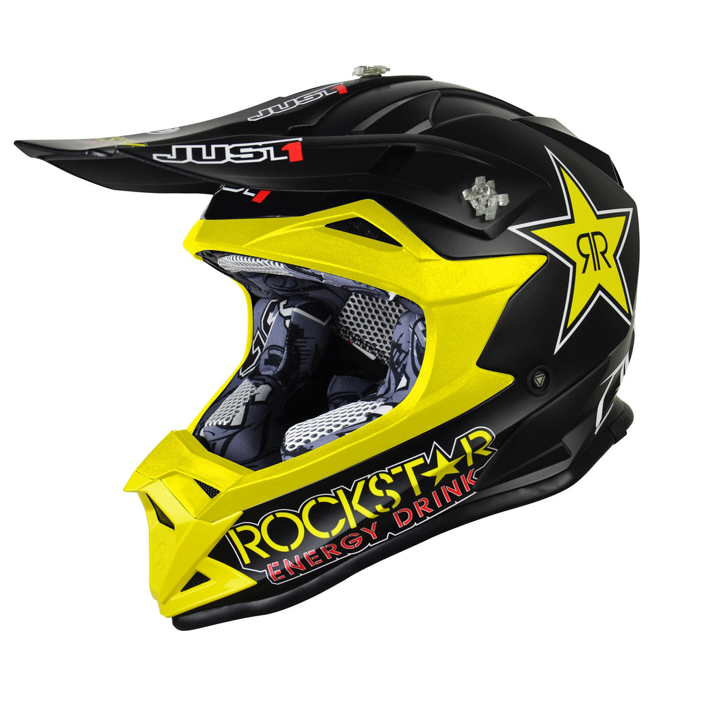 Kit Helmet Just1 J32 Rave Rockstar Youth - -