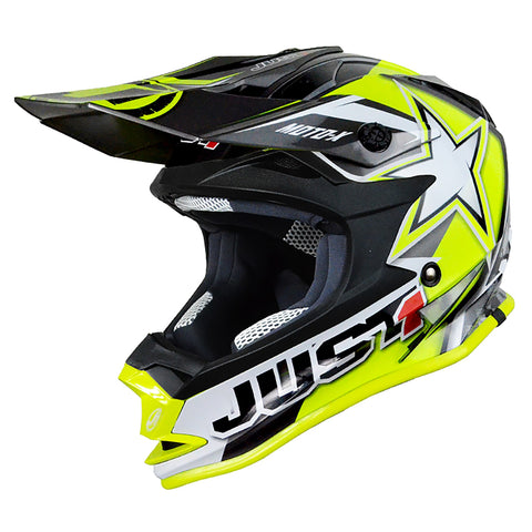 Just1 J32 Rave Youth Helmet Yellow