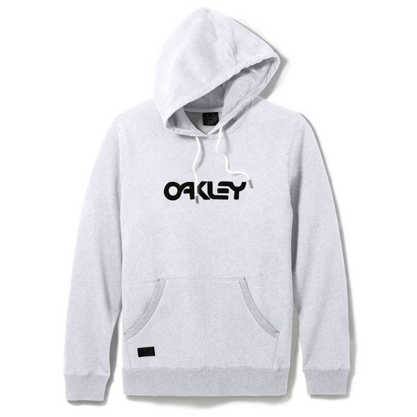 Casual Hoody Oakley Heritage - - Light Heather Grey S - Small