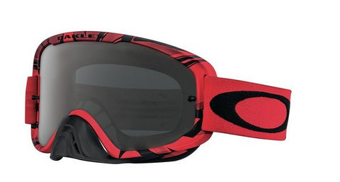 Oakley O2 - Intimidator Blood Red - Dark Grey Lens