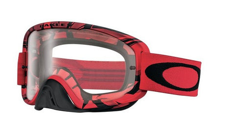Oakley O2 - Intimidator Blood Red - Clear Lens