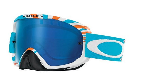 Oakley O2 - RPM Orange/Blue - Black Ice Iridium & Clear Lens