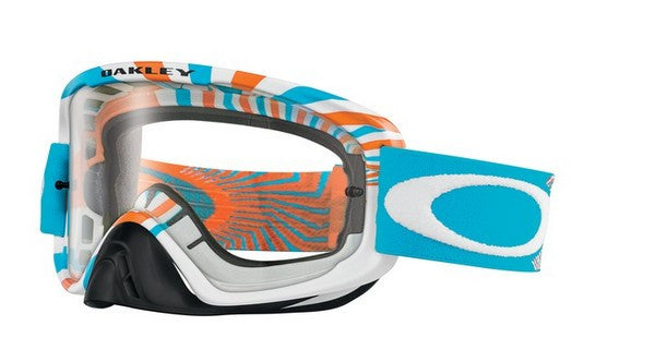 Kit Goggle Lens Oakley RPM O2 - - Clear Lens Orange Blue