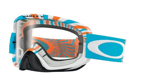 Oakley O2 - RPM Orange/Blue - Clear Lens