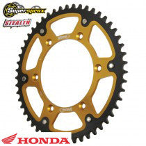 Drivetrain Sprocket Rear SuperSprox Stealth Honda CR CRF 85-150 - 49 Tooth
